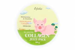 Коллагеновая лифтинг маска с памятью формы - Esfolio Collagen Shape Memory Jelly Pack