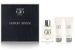 Armani Acqua di Gio Essenza - Набор (edp 75ml + a/sh/b 75ml + s/g 75ml)