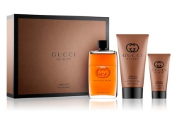 Gucci Guilty Absolute Pour Homme - Набор (edp 90ml + sh/gel 150ml + ash/balm 50ml)