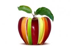 "Разглаживающий шампунь ""Яблоко и Авокадо"" - Brelil Hair Juice Liss Shampoo"