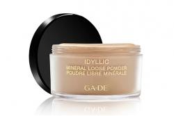 Пудра рассыпчатая с минералами - Ga-De Idyllic Mineral Loose Powder