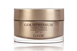 Дневной укрепляющий крем SPF 10 - Ga-De Gold Premium Firming Cream