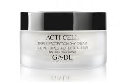 Дневной крем тройная защита для сухой кожи - Ga-De Acti-Cell Triple Protection Day Cream Dry Skin