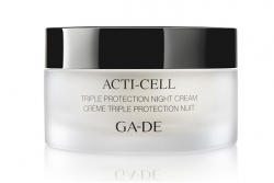 Ночной крем тройная защита - Ga-De Acti-Cell Triple Protection Night Cream