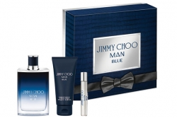 Jimmy Choo Man Blue - Набор (edt 100ml + ash/balm 100ml + edt 7.5ml)