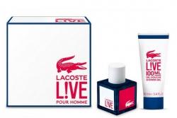 Lacoste Live - Набор (edt 100ml + sh/gel 100ml)