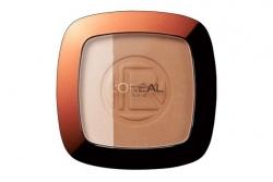 Пудра для лица - L'Oreal Paris Glam Bronze Poudre Duo Soleil
