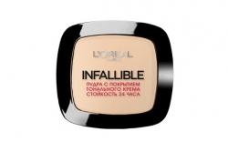 Пудра с покрытием тонального крема - L'Oreal Paris Infallible