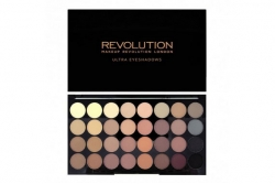 Палетка теней - Makeup Revolution Ultra 32 Shade Palette Flawless Matte