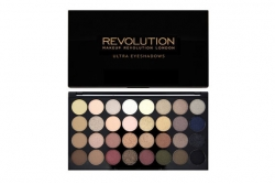 Палетка теней - Makeup Revolution Ultra 32 Shade Palette Flawless