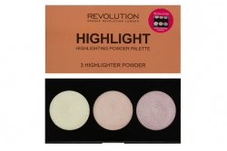 Палитра хайлайтеров - Makeup Revolution Highlight Powder Palette