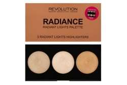 Палитра осветляющих хайлайтеров - Makeup Revolution Radiance Lights Palette
