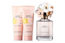 Marc Jacobs Daisy Eau So Fresh - Набор (edt 75ml + b/lol 75ml + sh/g 75ml)
