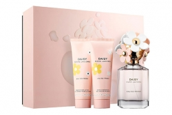 Marc Jacobs Daisy Eau So Fresh - Набор (edt 75ml + b/lol 75ml + sh/g 75ml)