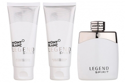 Montblanc Legend Spirit - Набор (edt 100ml + ash/balm 100ml + sh/gel 100ml)