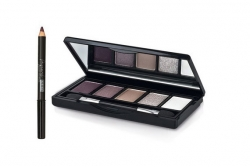 Набор - Pupa Pupart Pocket Kit Smoky Edition (eyeshadows/4.5g + pencil/0.7g)