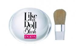 Компактные румяна с матовым эффектом - Pupa Like a Doll Blush