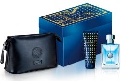 Versace Versace Pour Homme - Набор (edt/100ml+sh/gel/100ml+bag)