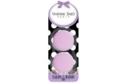 Набор круглых латексных спонжей для макияжа - Vivienne Sabo